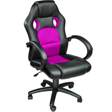 Gamer stolička basic- ružová