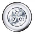 ALphaOne nástenné LED svietidlo s tlačidlom