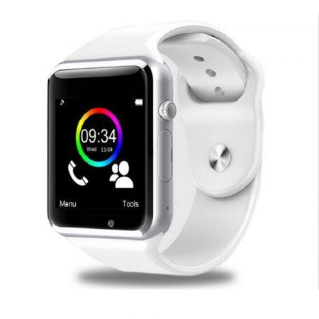 AlphaOne A1  smart hodinky Biela Smart hodinky so zaobleným displejom, SIM kartou a množstvom ďalších funkcií