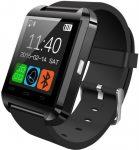 Pro Watch U8 smart hodinky, čierná farba