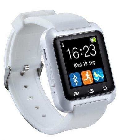 Pro Watch U8 smart hodinky, bielá farba holm0104