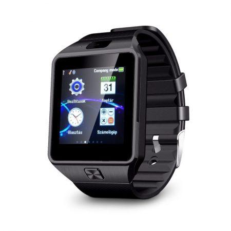 AlphaOne DZ09 smart hodinky čierné -Telefón už nemusíte vybrať z vrecka alebo z tašky