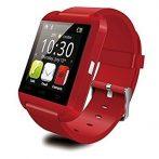 Pro Watch U8 Smart hodinky  červené holm0184