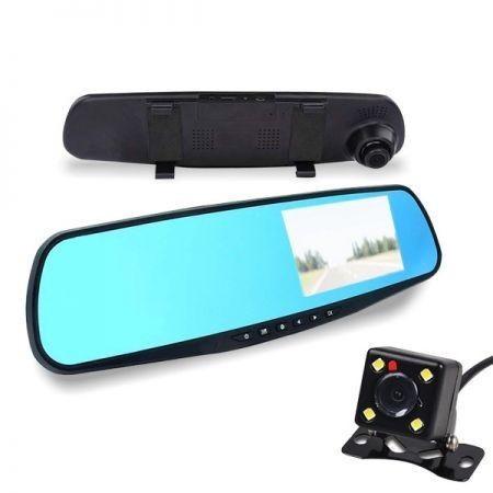 ALphaOne mr200 Integrovaná kamera do spätného zrkadla a cúvacia kamera holm0199
