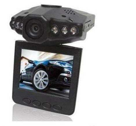 AlphaOne bezpečnostná auto kamera so záznamníkom udalosti - Farebný monitor a nočné videnie.
