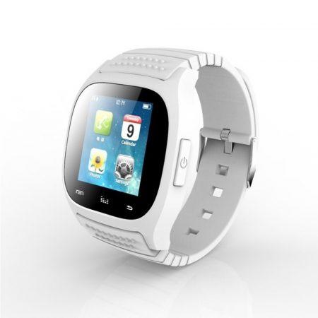 AlphaOne M26 smart hodinky, biele - Budete vždy informovaní o doručených spravách, e-mailoch, zmeškaných hovoroch a to priamo na vašom zápästí.