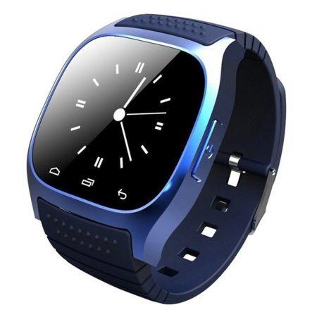 AlphaOne M26 smart hodinky modre - Budete vždy informovaní o doručených spravách, e-mailoch, zmeškaných hovoroch a to priamo na vašom zápästí.