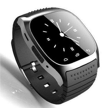 AlphaOne M26 smart hodinky čierne -Budete vždy informovaní o doručených spravách, e-mailoch, zmeškaných hovoroch a to priamo na vašom zápästí.