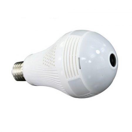 Panoramatická kamera v tvare žiarovky  s Wifi/ktorú môžete ju používa aj ako detský monitor!