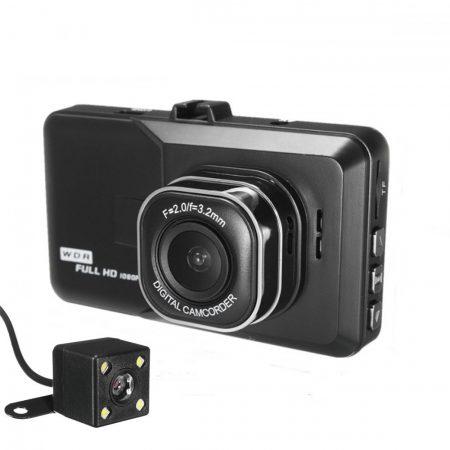 BlackBox palubná a cúvacia kamera do auta