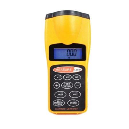 Digitálny ultrazvukový merač vzdialenosti do 18m