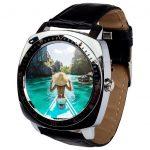 AlphaOne X3 strieborne Inteligentné hodinky,