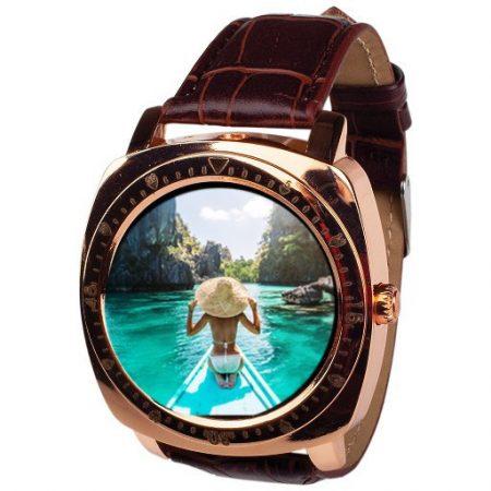 AlphaOne X3 zlaté Inteligentné hodinky