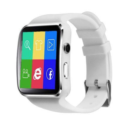 AlphaOne X6 smart hodinky biele