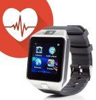 AlphaOne M8 premium smart hodinky, strieborná-čierná farba holm0382
