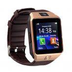 AlphaOne M8 Premium Smartwatch Zlato-Hnedé (monitor srdcového rytmu)