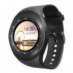 AlphaOne Y1 smart hodinky čierne holm0401