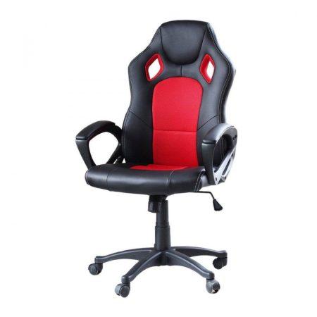 Gamer stolička basic - červená