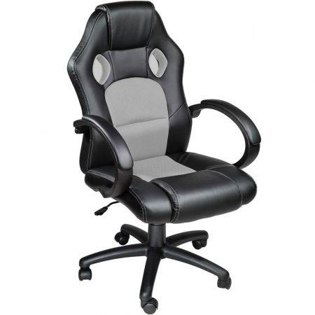 Gamer stolčika basic - sivá