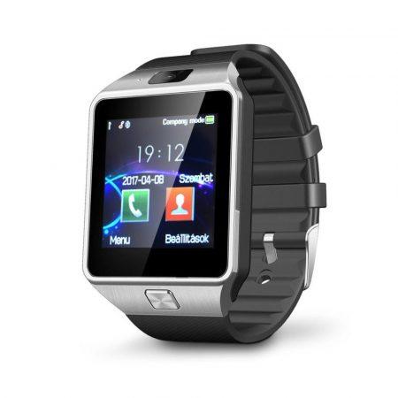 AlphaOne DZ09 sivo-čierné smart hodinky -Telefón už nemusíte vybrať z vrecka alebo z tašky