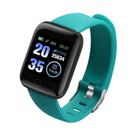 PlusWatch ID116 Inteligentné hodinky Zelené holm0628