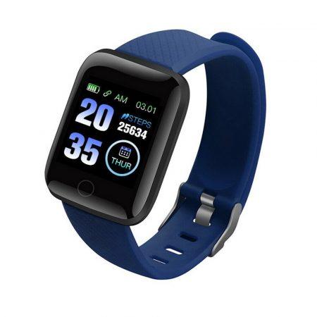 PlusWatch ID116  Inteligentné hodinky Modré holm0630
