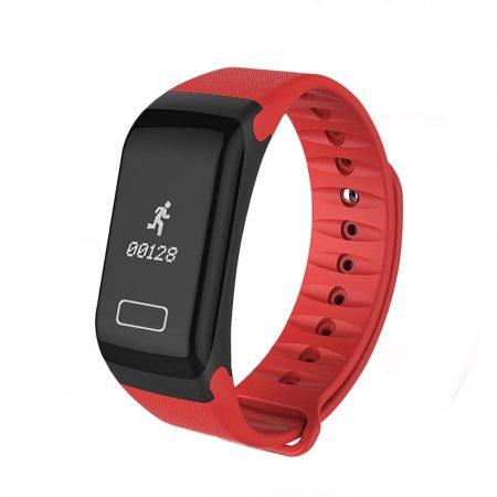 F1 červená farba - Fitness funkciók,lopás elleni védelem,android és ios kapcsolat egyaránt.