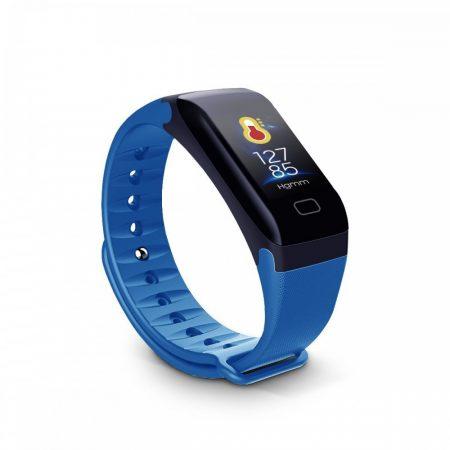 F1 modrý Inteligentný kék - Fitness funkciók,lopás elleni védelem,android és ios kapcsolat egyaránt.