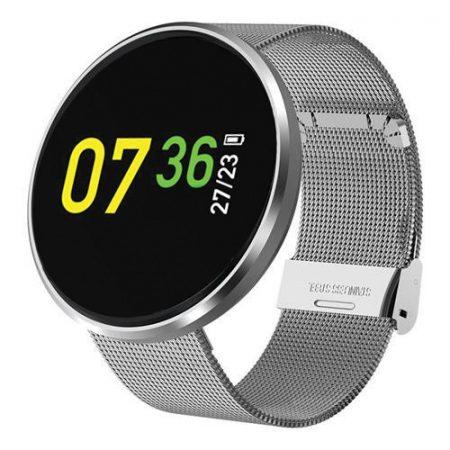 SweetFatima CF006 Inteligentné hodinky Strieborné holm0992