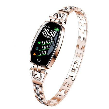 Luxardo H8 Dámske Inteligentné hodinky zlaté holm0994