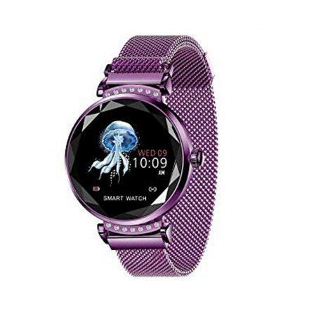 Anette Signiture AS12 Inteligentné hodinky fialove holm0996