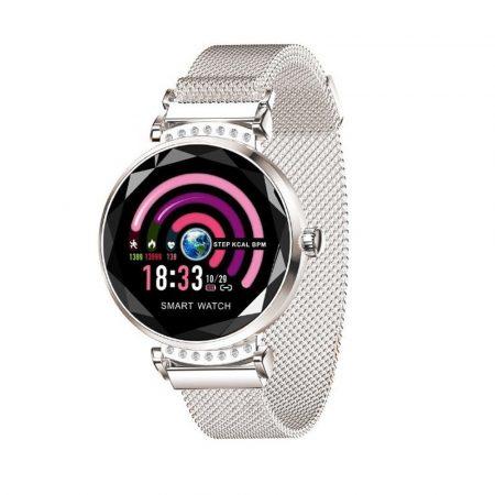Anette Signiture AS12 Inteligentné hodinky strieborne holm0999
