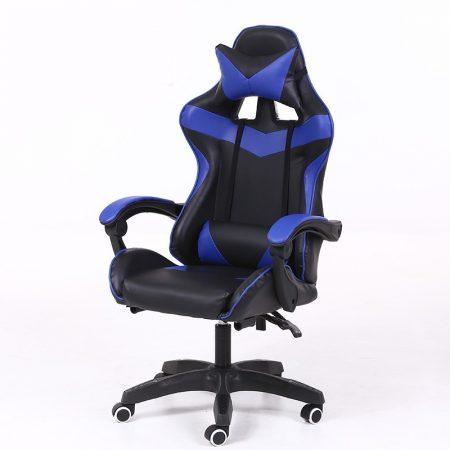 Gamer stolička -modrá, čierna
