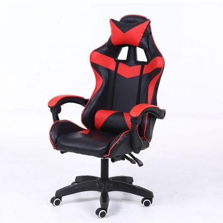 Gamer stolička -červená, čierna