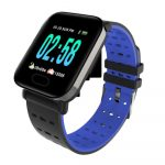 MikeWatch A6 Modré Inteligentné hodinky holm1017