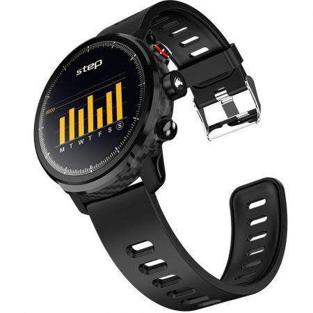 AlphaOne L5 čierne Inteligentné hodinky