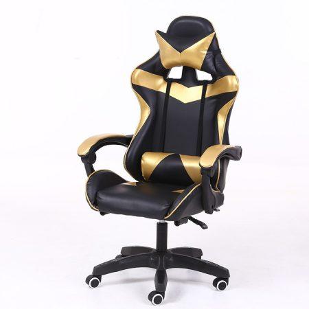 RACING PRO X Herná stolička , zlato-čierna