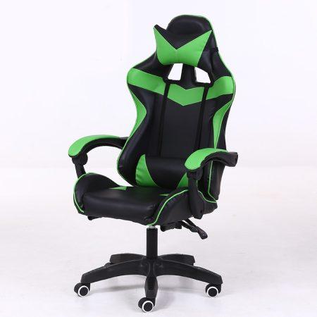 RACING PRO X Hráčske kreslo , zeleno-čierna