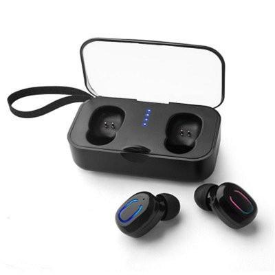 AlphaOne airpods T18S -headset s nabíjacím dokom