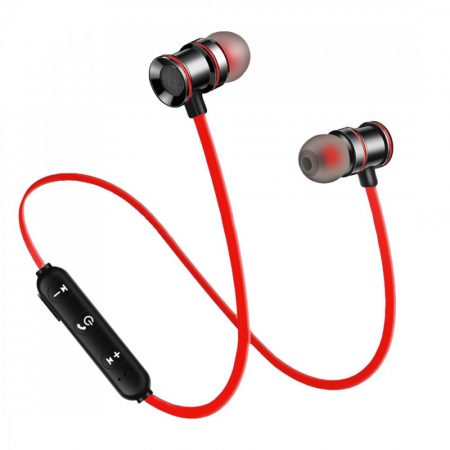 X10 Sport headset -červená - Mágneses kialakítás, hogy sportolás közben se hagyd el!