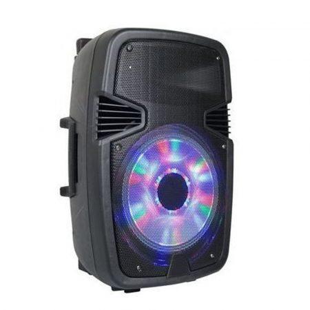 Prenosný bezdrôtový reproduktor Bluetooth so skvelým zvukom s diaľkovým ovládaním!