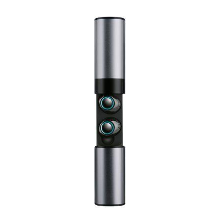 Súprava slúchadiel Bluetooth 4.2  s nabíjacím puzdrom  S2 Tws - sivé