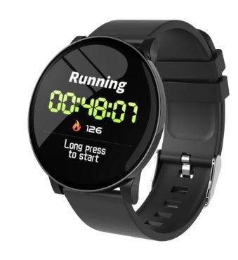 S9 Inteligentné hodinky, čierne