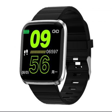 ProWatch ID116  inteligentné hodinky čierne holm1164