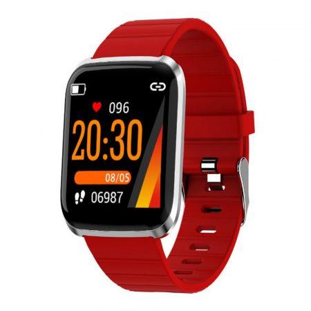 ProWatch ID116 inteligentné hodinky-červené holm1165