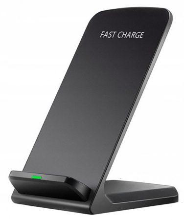 Stolový bezdrôtový telefón QI s rýchlou nabíjačkou a stojanom