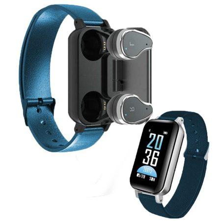 T89 inteligentný náramok- modrý-Unod a sok műszaki kütyüt?? Legyen nálad minden egy helyen, headset + karkötő!