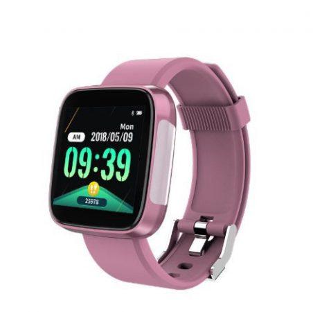 Syclon T5 Chytré hodinky ružové holm1216