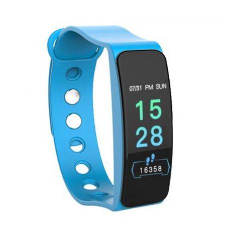 B1 modrý náramok - Masszív de elegáns külső,egészségügyi monitorozás,értesítések,sportmód.