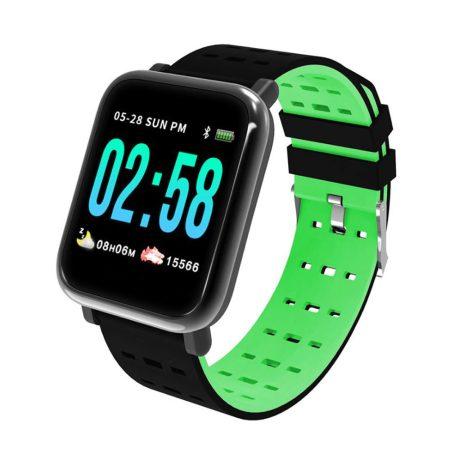 Chytré hodinky A6 zelené